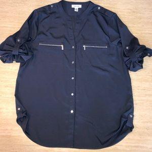 Calvin Klein button-up blouse